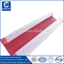 2.0mm thickness pvc roof top waterproof materials