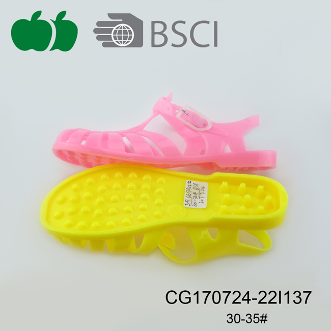 jelly pvc sandal