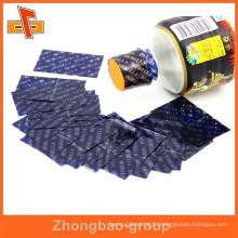 PVC CMYK Printing shrink wrap sleeves bottle neck shrink sleeve