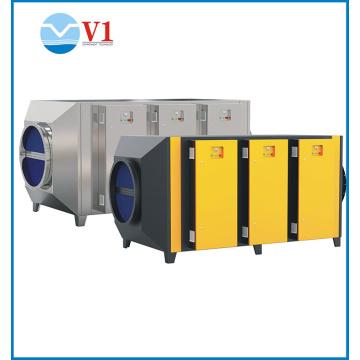 indoor air filtration deodorization uv carbon filter 3000M3/H