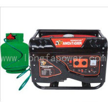 Price 5kVA 5kw LPG Natural Gas Powered Portable Generators