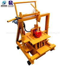 Hand Operated Brick Making Machine Suitable For Family Low Cost Moving Egg Laying Block Making Machine Price For Sale