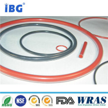 Red color FEP /PFA encapsulated Rubber silicone o ring