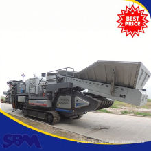 Brand-new mobile crusher gravels, mobile portable crushing plant