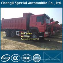 Caliente venta HOWO 380HP 30tons LHD 6 X 4 volcado de camiones pesados