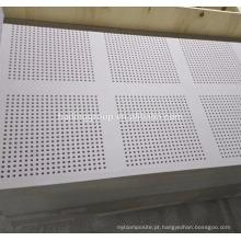 China Placa de gesso suspendida perfurada, placa de gesso, teto do Drywall