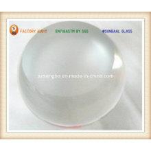 Bola de vidro com fundo