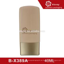 Neue Produkt-Gold-Kunststoff-Kosmetik-Flasche für die Hautpflege