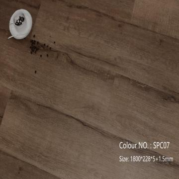 Interlock 4mm 5mm 6mm pvc lvt spc flooring