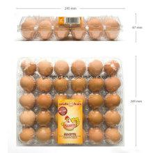Caja de embalaje de contenedor de huevo de PVC (bandeja de plástico)