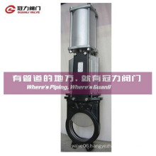 Dutile Iron Stainless Steel Pneumatic Knfie Gate Valve
