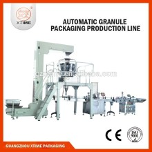 production line automatic bottle food filling machine