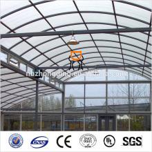 feuille vitrée en polycarbonate à double paroi / vitrage en polycarbonate