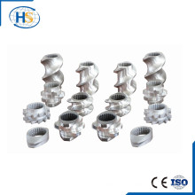 Струбцина для струйного экструдера / параллельный двухвинтовой цилиндр / винт и ствол