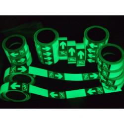 Realglow Photoluminescent Vinyl Film Sign