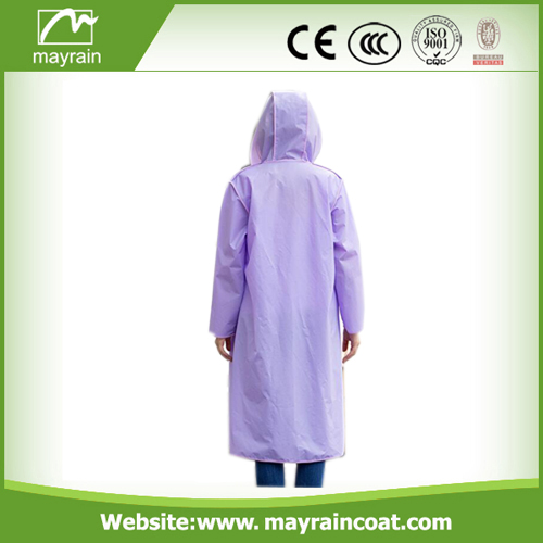 Mayrain Casual PVC Outdoor Jackets