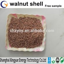 China fabricación de cáscara de nuez abrasivo / superficie tratamiento cáscara de nuez