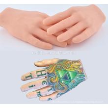 Trainer pratique main, Hign qualité tatouage entraîneur main pratique
