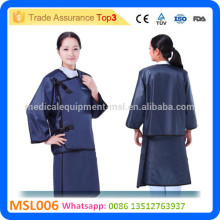 MSL006-i CE Approved cheap price body suit hospital lead free apron x ray protection