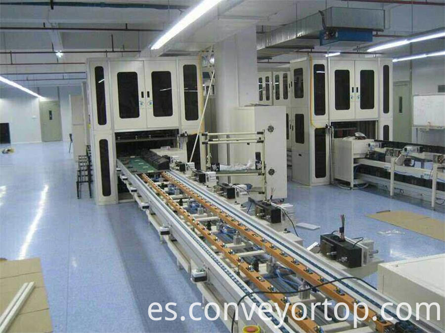 electric fan production line