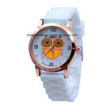 Reloj de pulsera de silicona por encargo
