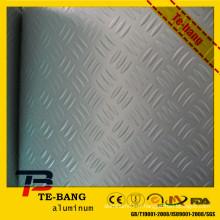 Panneau composite en aluminium gaufré