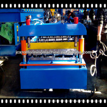 220V 60HZ Trapezoidal Roof Panel Roll Forming Machine With 18 Roller Station