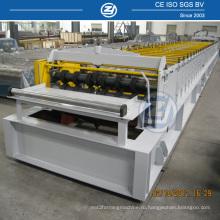 Профилегибочная машина для производства настилов для прокатных полов