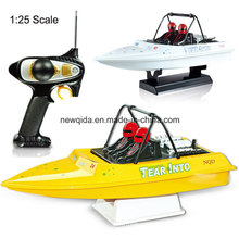 Nqd 1/25 Scale Tear Into RC Jet Boats with 390 Motor