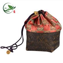 OEM Pratique Magasin Bambou Voyage Sac Matcha Thé Kit Set Voyage Sac À Main