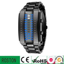 Mode LED Multifuction Kunststoff Uhr mit RoHS CE FCC