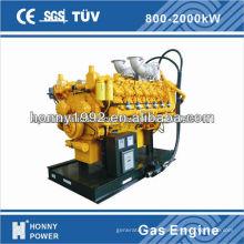 Generador de metano de gas 45kw-500kw