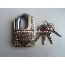 Cadeado meio protegido zinco liga cadeado