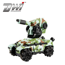 2020 Hot Selling 2.4G tank 4WD RC Stunt Car With Water Boom 360 Degree Rotating Radio Control Battle RC Toys Gift For Boys