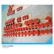 Lange Schleife geschmiedete legierte Stahlrohrverschraubungen