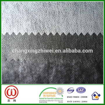 100% Polyester Material and 90/100/150CM Width fusible interlining light interlining