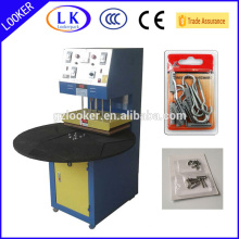 Blister and cardboard sealing machine