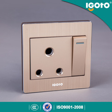 Igoto Alliage Frame British Standard BS 1gang 15A Switch Socket