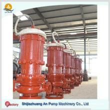 Reator de porões submersível de serviço pesado Bomba de incêndio de água do mar