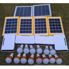 Lampes solaires rurales de l'électricité LED de lumière dans le long temps d'éclairage