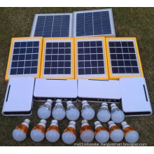 Solar Electricity Rural LED Light Lamps in Long Lighting Time