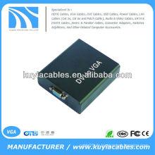 Digital DVI-I zum analogen PC VGA Video Converter Box 1920x1080