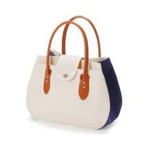 Top Design Backpack Canvas Tote Bag Black Natural Handbags Custom Lightweight Medium Reusable Grocery Shopping Cloth Bags