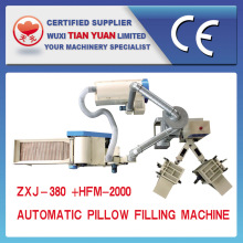 Opended fibra de enchimento de almofada travesseiro faz a máquina