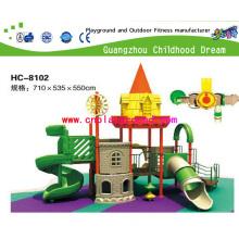 Outdoor Playground Equipment, Small Castle Amusement Equipment