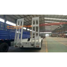 3axles lowbed trailer kapasitas beban 40-50T