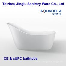 2016 bañera de pie de acrílico de lujo del nuevo diseño de lujo que construye (JL653)