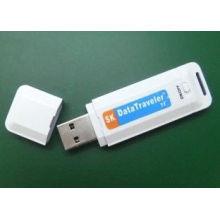 8gb Plastic Usb Pen Drive Digital Audio Voice Recorder White With Clock System