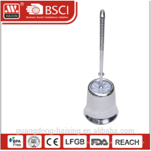 Haixing Stainless Steel Toilet Brush in bathroom set WITH BASE