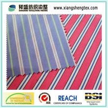 Tissu de coton peint pur de 40s * 40s avec large largeur 300cm
